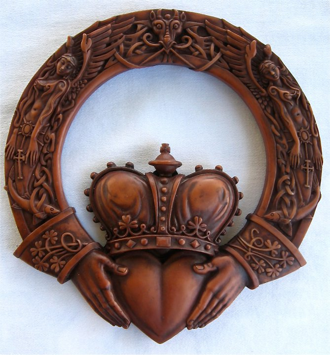 Claddagh Plaque