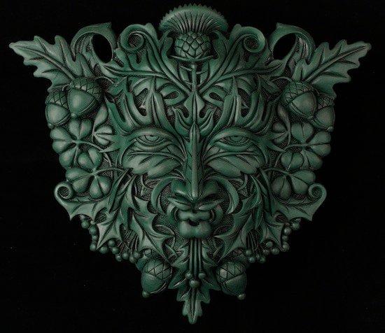 Plaque - Green Man