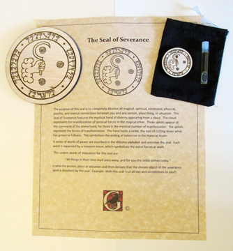 "Laser-crafted Magical ""Seal of Severance"" Kit"