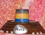 3 Phase Moon Candle - Peace and Harmony