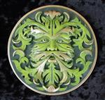 Elemental Plaque of Earth - Greenman