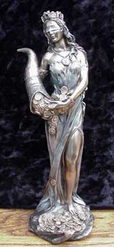 Fortuna - Goddess of Abundance Bronze