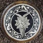 Horned God Plaque