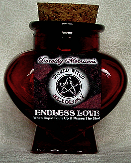 Endless Love Spell Jar created by Dorothy Morrison