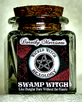 Swamp Witch Spell Jar created by Dorothy Morrison