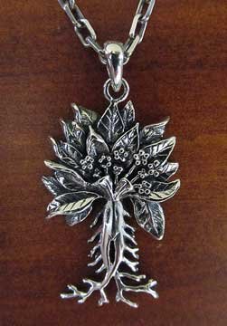 Beautiful and unique Mandrake Pendant
