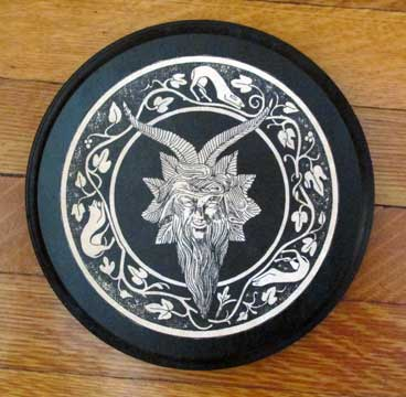 Plaque - Horned God Plaque