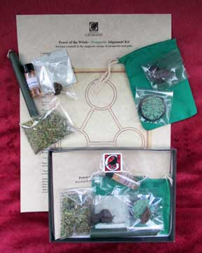 Prosperity Spell Kit