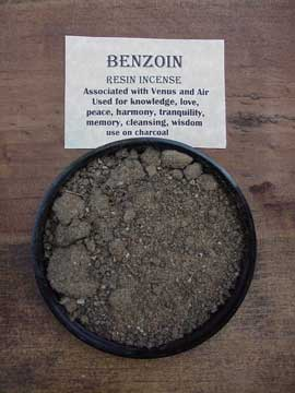Resin Incense: Benzoin