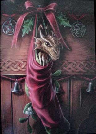 Yule Card - Magical Arrival