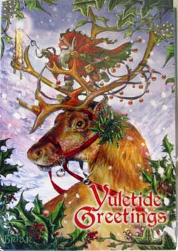 Yule Card - Guide by Northern Lights